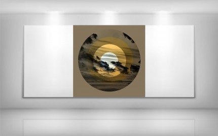 © series > Target ART series - Heavens Above - Gold 01