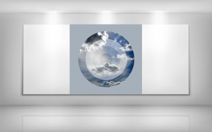 © series > Target ART series - Heavens Above - Blue Sky 01