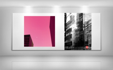 © series > Cityscape series - Pink City and No Entry Reflections