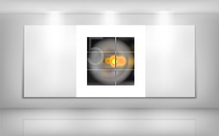 © series > LD ART gallery - MOUSE 5 yellow