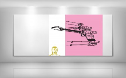 © series >  LD ARTgallery - Star Wars - The Pink Menace III