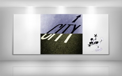 © series > LD ART gallery - CITY MICKY TAKE 13