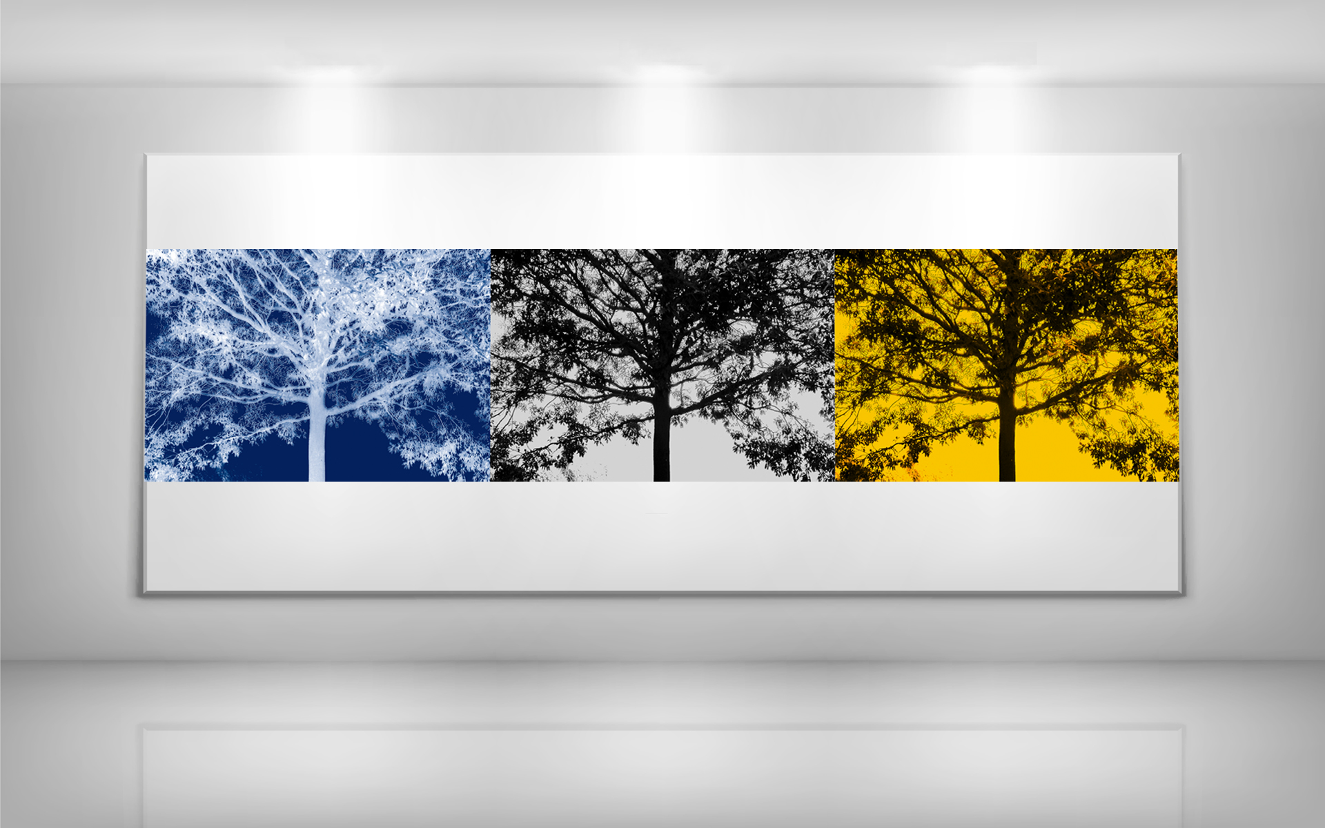 series series ld art gallery nature tree triptych