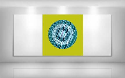 © series > LD ART gallery - Urban Target Lime 1