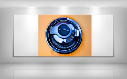 series > autoART > Orange Charger - Fuel Cap