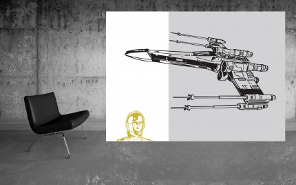 series : LOFT space gallery > Star WARS C-3PO Under Attak 2